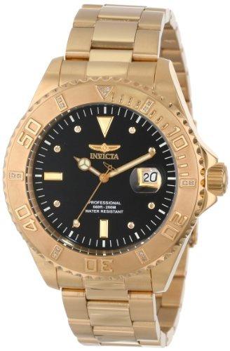 reloj invicta  dorado u61