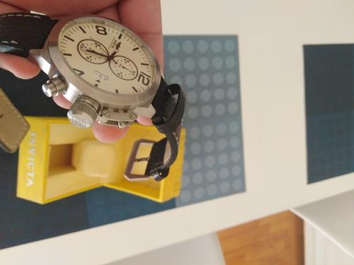 reloj invicta hombre 3449 con manuales y estuche original