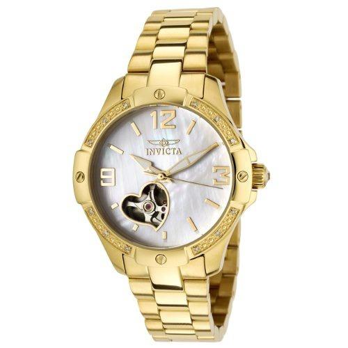 reloj invicta mujer 0290 specialty automatic accented 18k