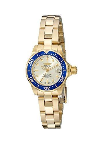 reloj invicta mujer 14126 pro diver 18k ion