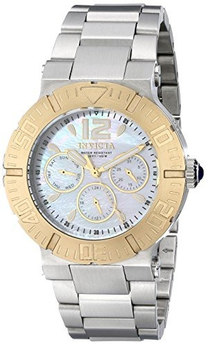 reloj invicta mujer 14750 angel swiss quartz silver