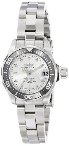 reloj invicta mujer 14985 pro diver japanese quartz silver