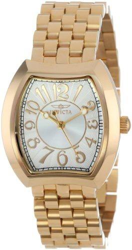 reloj invicta mujer 15039 angel silver 18k gold ion plated