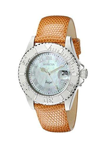 reloj invicta mujer 18403 angel swiss quartz orange