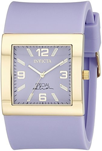 reloj invicta mujer 18811 angel japanese quartz purple