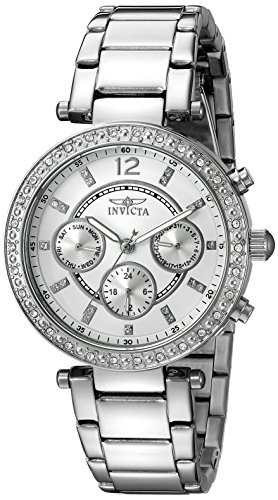 reloj invicta mujer 21386 angel crystal accented