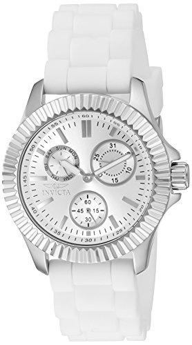 reloj invicta mujer angel multi function silicone band
