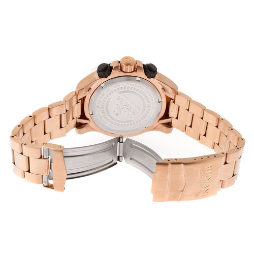 reloj invicta oro rosado  mod 15895 chapa de oro 18 k