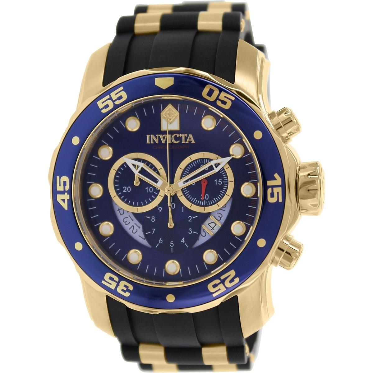 f475bec240a0 Reloj Invicta Para Hombre 6983 Pro Diver Negro Y Esfera Azul ...