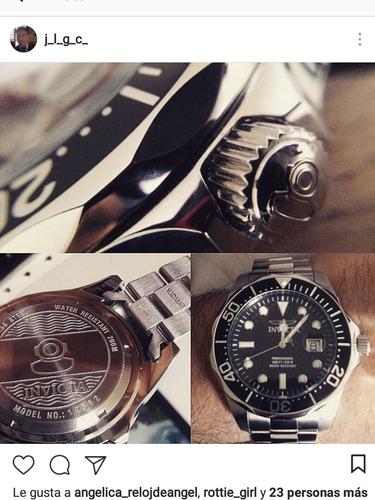 reloj invicta pro diver 12562 47mm