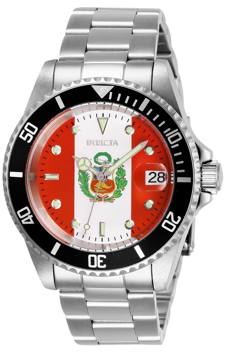 a98009494ae3 Reloj Invicta Pro Diver 28703 Perú World Cup - A Pedido. - S  699