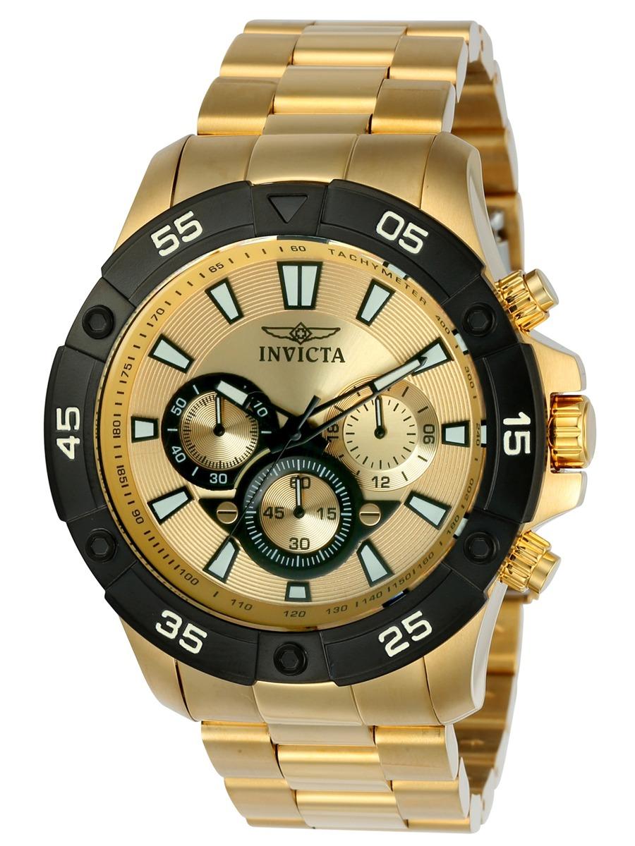 ff429079e819 reloj invicta pro diver de los hombres 22789 oro   oro y c. Cargando zoom.