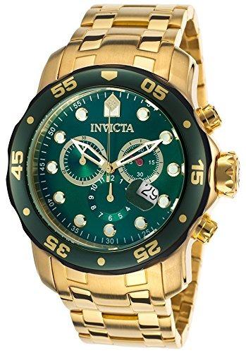 reloj invicta  pro diver dorado
