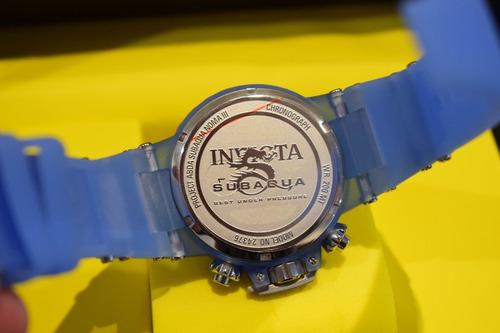 reloj invicta subaqua 24376 original nuevo en caja 44mm
