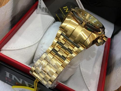 reloj invicta zeus bolt 23913 - hombre 53mm - único