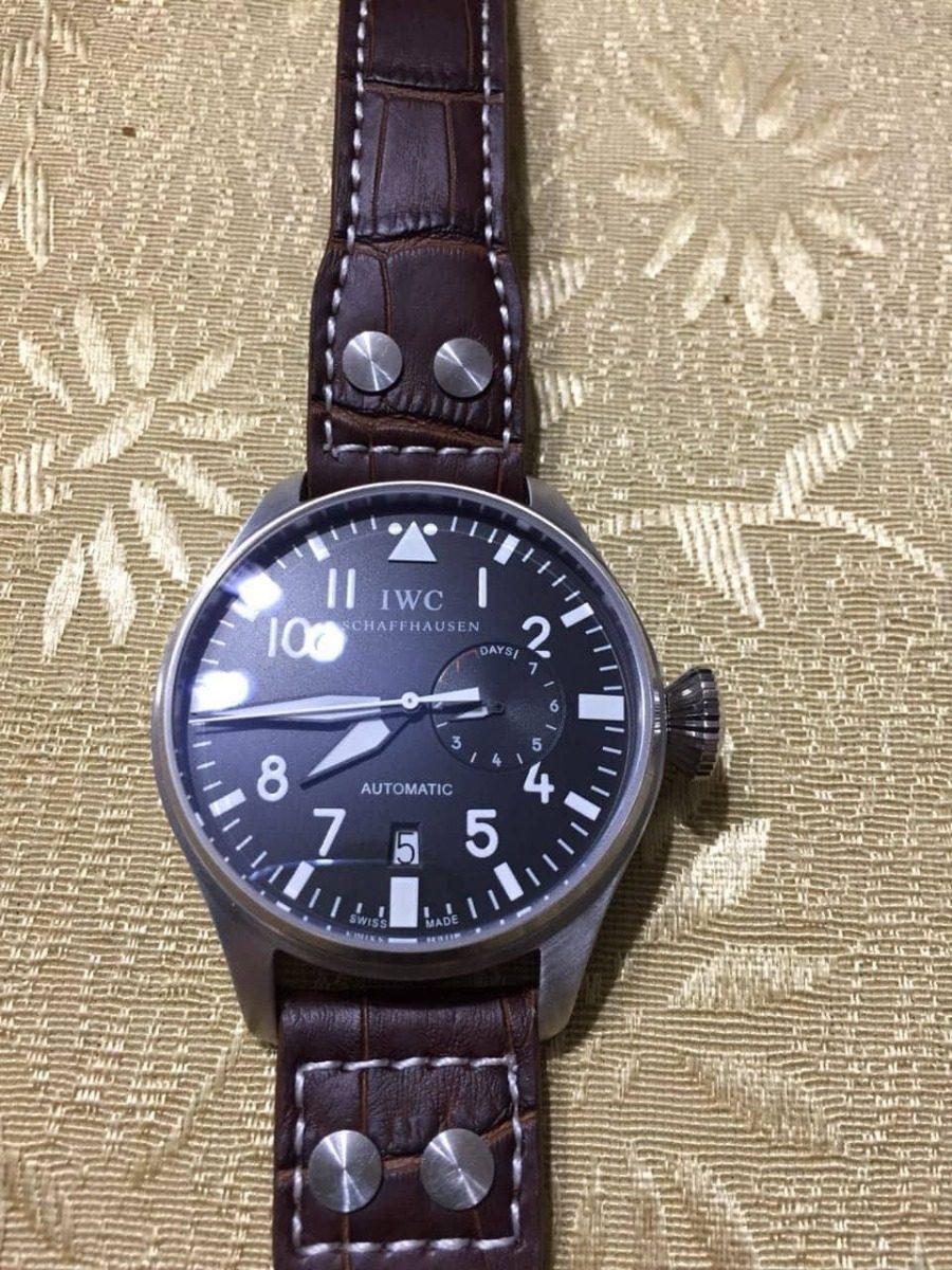bd8d83fdac99 reloj iwc big pilot iw500201. Cargando zoom.