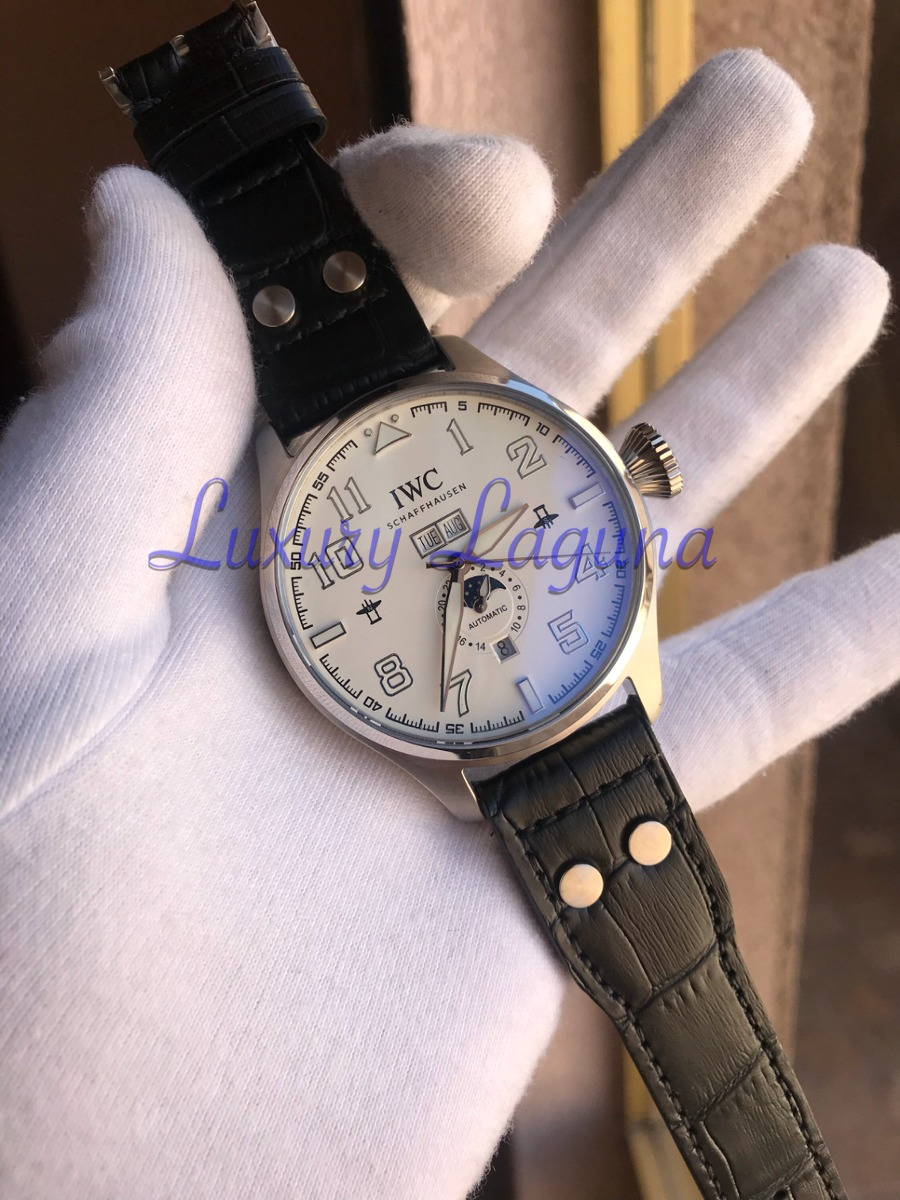 e792658ce968 reloj iwc schaffhausen white dial automatico. Cargando zoom.