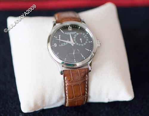 reloj jaeger - le coultre master control reserve de marche