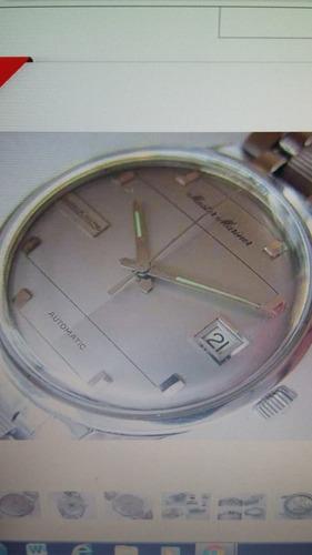 reloj jaeger le coultre master mariner automático de hombre