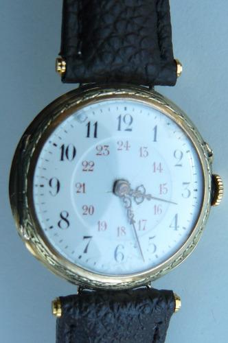 reloj jaeger lecoultre antiguo oro solido 18k suizo año 1890