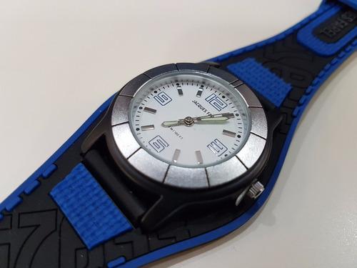 reloj  jaques farel sport nuevo contra agua