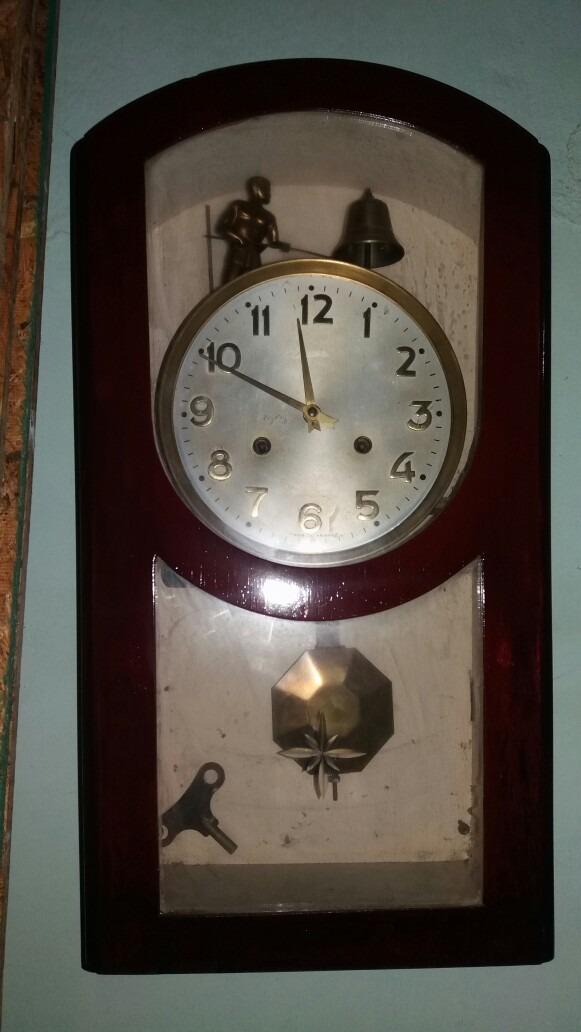 4ffbfa6f0495 Reloj Jawaco Antiguo De Pared -   800.000 en Mercado Libre