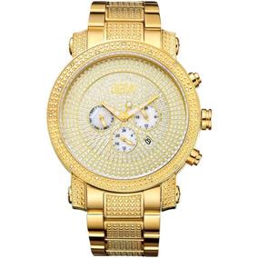 8102 Diamante A Jb 18k Oro Msi Acero Reloj Jbw Victor Hombre n0OPk8wX