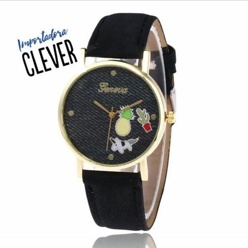 reloj jeans + caja de regalo