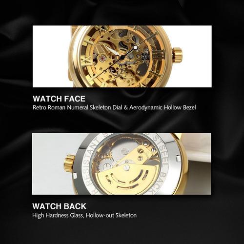 reloj jewelry we estilo oro acero inoxidable automatico