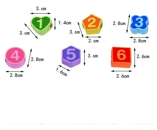 reloj juego didáctico encajable enebrar infantiles montessor