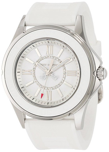 reloj juicy couture  blanco femenino