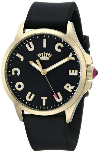 reloj juicy couture negro femenino
