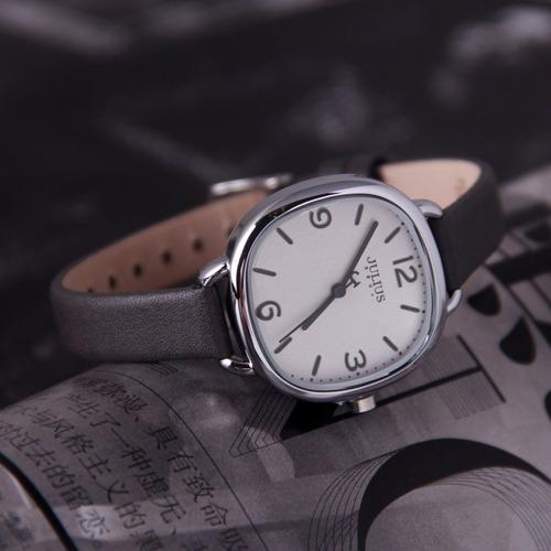 reloj julius ja-928b mujer dama mas pulsera acero. promocion
