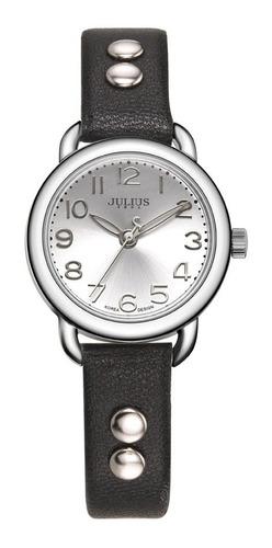 reloj julius ja-933 mujer dama malla cuero envío gratis