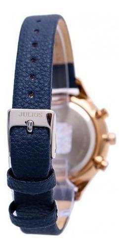 reloj julius ja-952 mujer dama multifuncion envio gratis