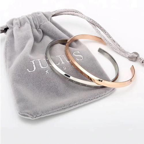 reloj julius ja-985 mujer dama mas pulsera acero. promocion.