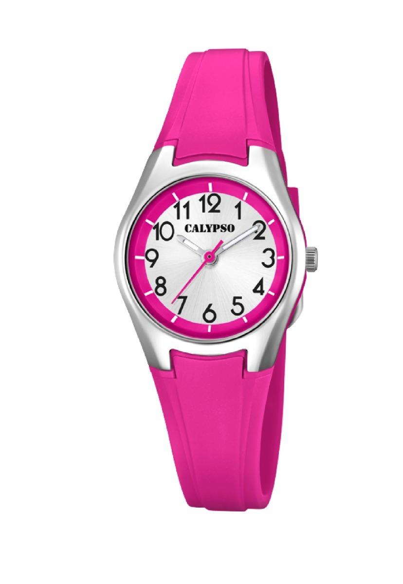 12c102b0a54f Reloj K5750 2 Fucsia Calypso Mujer Sweet Time -   26.000 en Mercado ...