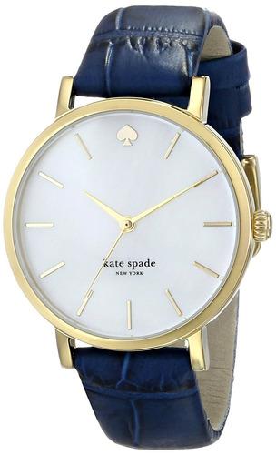 reloj kate spade new york modelo 1yru0537 azul