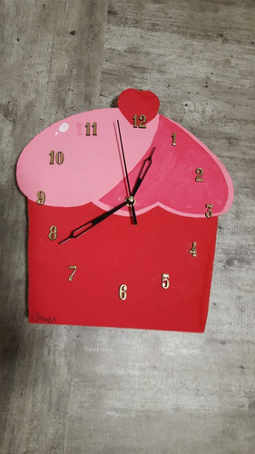 reloj keki de escritorio y/o pared