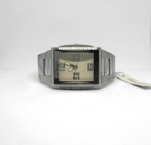 reloj kenneth cole caballero rectangular, nuevo  oferta!!
