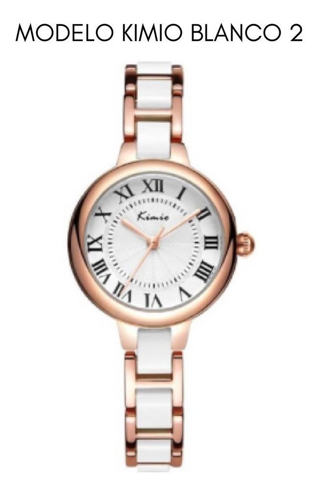 Reloj Mujer Elegante Lujoso Dama Origina Kimio Relojes Marca 6ybf7g
