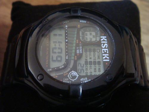 reloj kiseki by sii digital. luminate. colección 80s.