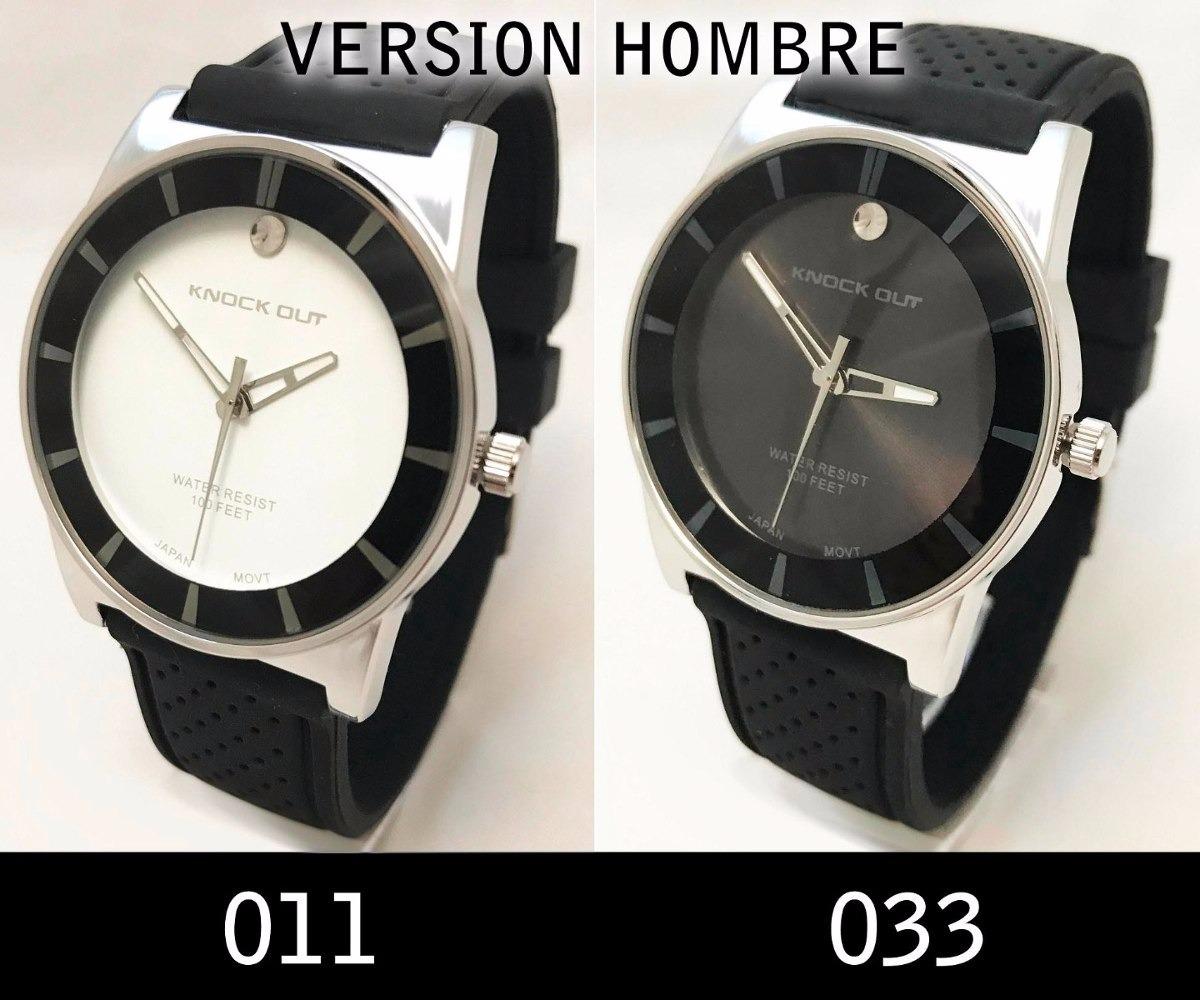 5d27d0cf7a54 reloj knock out 8535g caucho hombre caballero garantia! Cargando zoom.