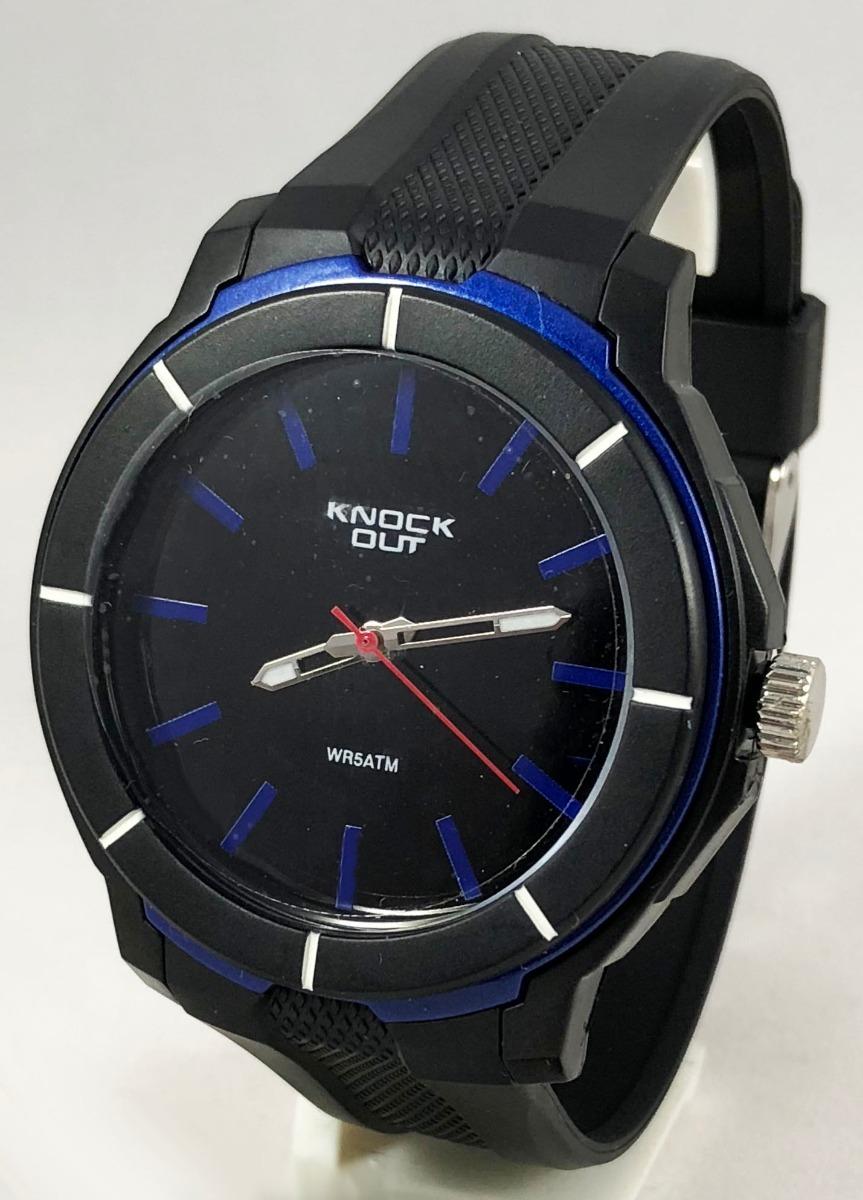 f3835b9633bd reloj knock out hombre caucho caballero 8454 analogo. Cargando zoom.