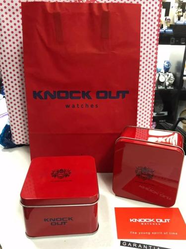 reloj knock out silicona sumergible-art 8469 casa tagger