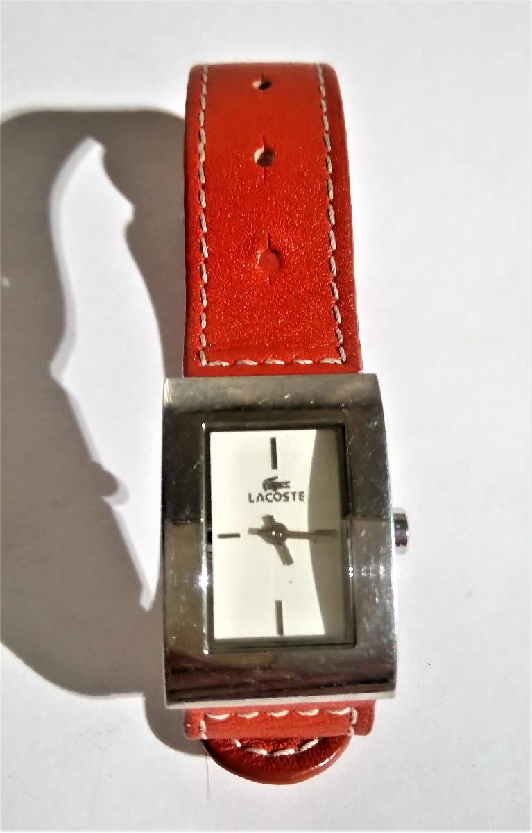 d7bd63ee9a7a reloj lacoste dama correa piel ajustable  2200 envió gratis. Cargando zoom.