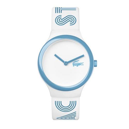 reloj lacoste goa white 2020105   original envío gratis