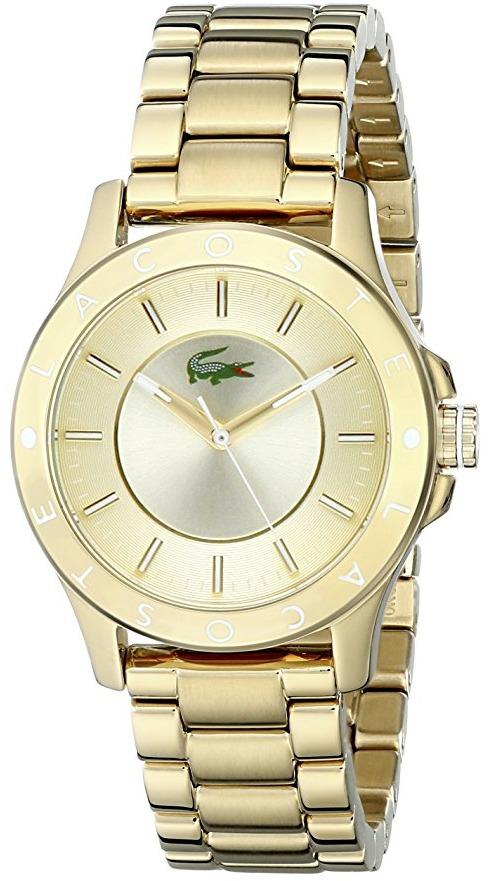 Reloj lacoste dorado mujer