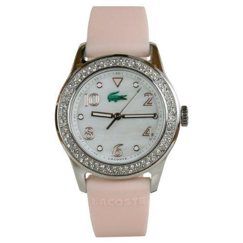 reloj lacoste  rosado