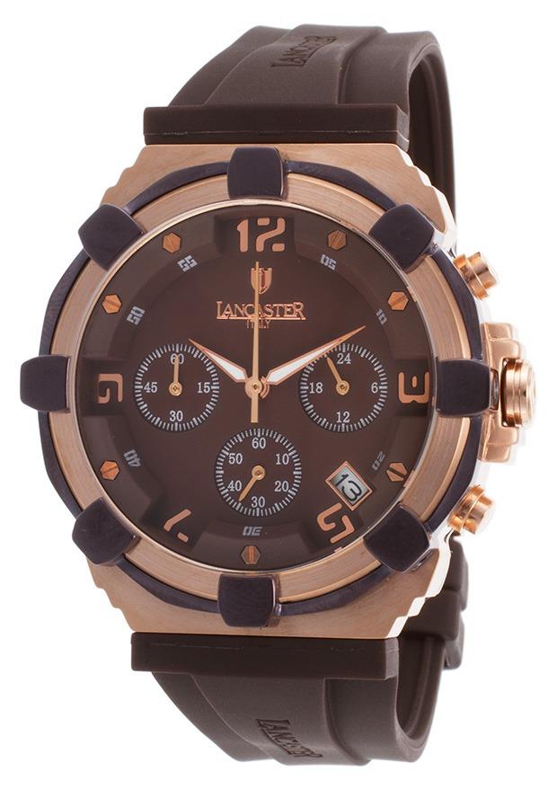 ce0a5fd7d5ed reloj lancaster italy ola0440l-rg-mr-mr es robusto chrono. Cargando zoom.